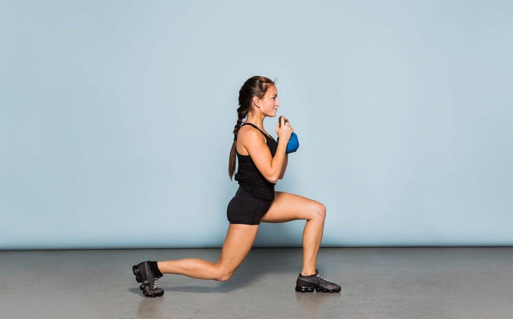 Bài tập giảm cân Lunges