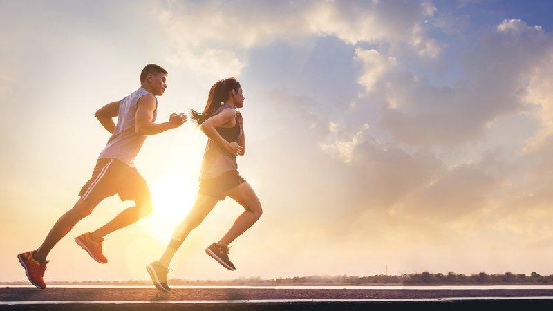 Chạy bộ là bài tập giúp đốt cháy năng lượng cao