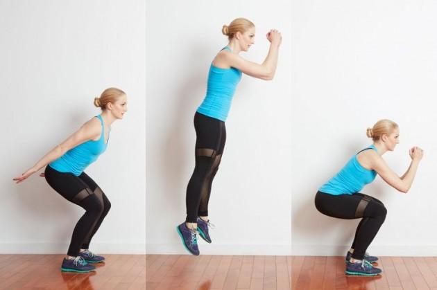 Bài tập thể dục giảm mỡFroggy Jumps