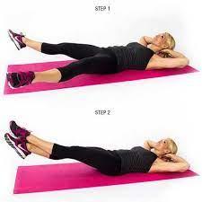 Bài tập giảm cân đơn giản với Scissor kicks