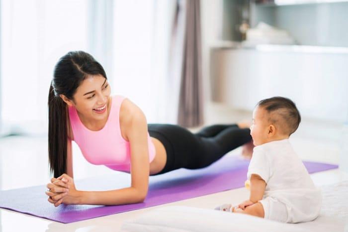 Các bài tập giảm cân an toàn sau sinh, đem lại hiệu quả bất ngờ